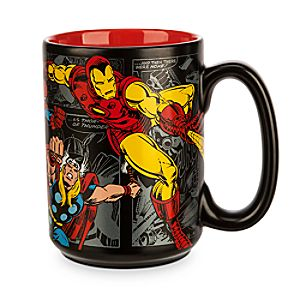 Marvel Comics Mug - Black