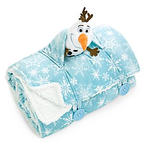 Olaf Blanket and Mini Plush