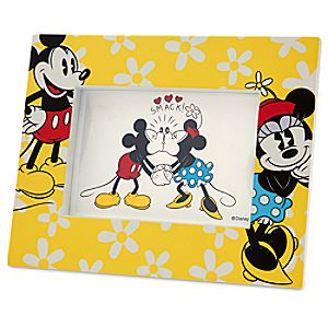 Mickey and Minnie Mouse Photo Frame - 4 x 6