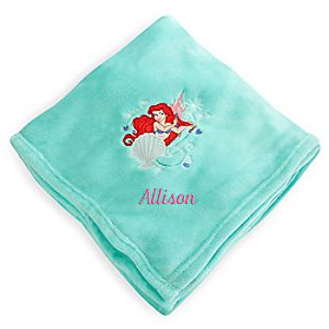 Ariel Fleece Throw - Personalizable