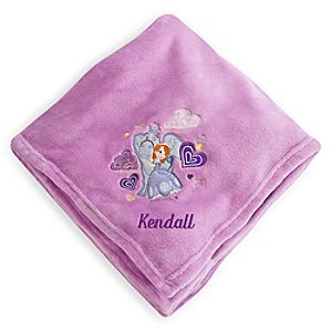 Sofia Fleece Throw - Personalizable