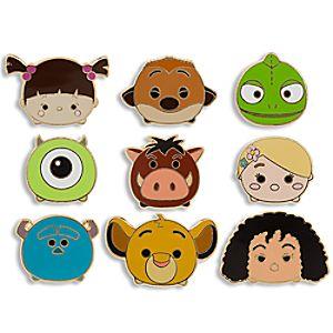 Disney Tsum Tsum Limited Edition Pin Set