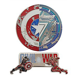 Captain America: Civil War Limited Edition Pin Set