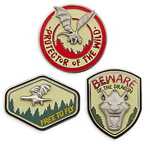 Petes Dragon Pin Set - Limited Edition
