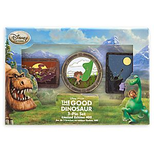 The Good Dinosaur Pin Set - Limited Edition