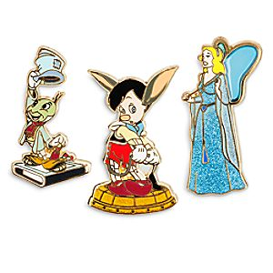 Pinocchio Limited Edition Pin Set