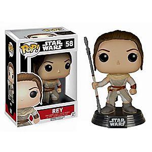Rey Pop! Vinyl Bobble-Head Figure by Funko - Star Wars: The Force Awakens
