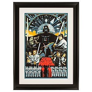 Star Wars Serigraph by Eric Tan - Framed - Limited Edition