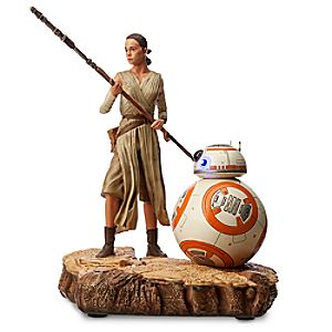 Rey and BB-8 Limited Edition Figure - Star Wars: The Force Awakens