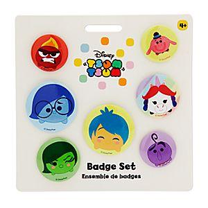 Disney•Pixar Inside Out Tsum Tsum Badge Set