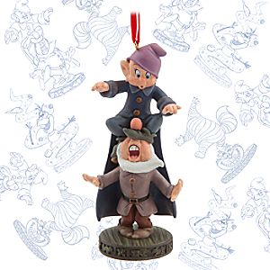 Dopey and Sneezy Limited Release Sketchbook Ornament - January 2016