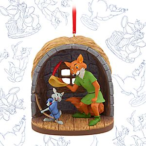 Robin Hood and Skippy Rabbit Limited Release Sketchbook Ornament - February 2016