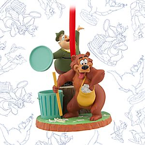Humphrey Bear and Ranger Woodlore Limited Release Sketchbook Ornament - March 2016