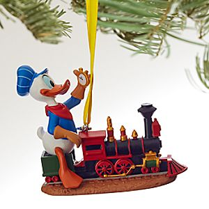 Donald Duck Sketchbook Ornament - Out of Scale - Personalizable