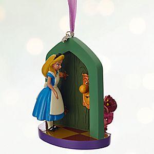 Alice in Wonderland Sketchbook Ornament - Personalizable