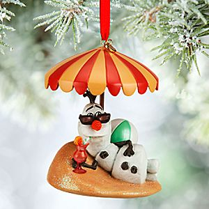 Olaf Sketchbook Ornament