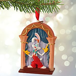 Roger Rabbit and Jessica Sketchbook Ornament