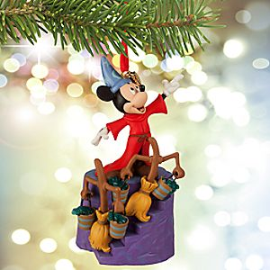 Sorcerer Mickey Mouse Sketchbook Ornament - Fantasia 75th Anniversary
