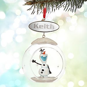 Olaf Sketchbook Ornament - Personalizable