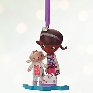 Doc McStuffins and Lambie Sketchbook Ornament - Personalizable