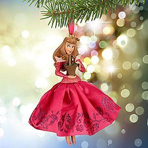 Aurora Sketchbook Ornament - Sleeping Beauty