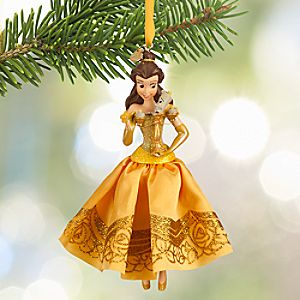 Belle Sketchbook Ornament