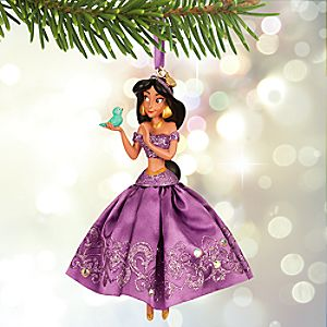 Jasmine Sketchbook Ornament - Lavender - Online Exclusive