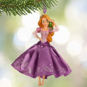 Rapunzel Sketchbook Ornament