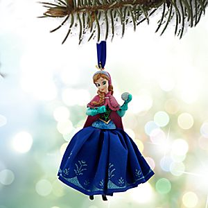 Anna Sketchbook Ornament