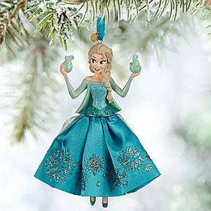 Elsa Sketchbook Ornament