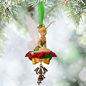 Tinker Bell Light Up Sketchbook Ornament