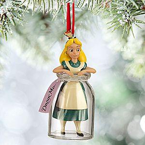 Alice in Wonderland Sketchbook Ornament