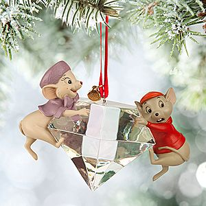 Bernard and Miss Bianca Sketchbook Ornament - The Rescuers