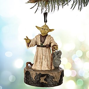 Yoda Talking Sketchbook Ornament - Star Wars
