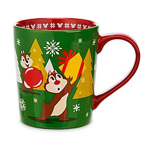 Chip n Dale Holiday Mug
