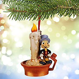 Jiminy Cricket Light-Up Sketchbook Ornament