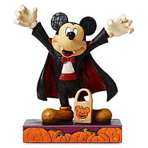 Mickey Mouse Count Mickey Vampire Figure by Jim Shore