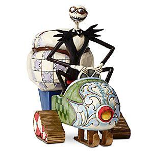 Jack Skellington Christmas Delivered Figure by Jim Shore