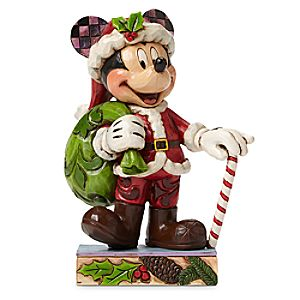 Mickey Mouse Holiday Cheer for All Figure by Jim Shore