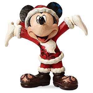 Mickey Mouse Christmas Cheer Figure by Jim Shore