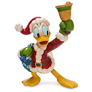 Donald Duck Ring in the Holidays Figure by Jim Shore