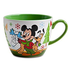 Mickey Mouse Cappuccino Mug - Holiday