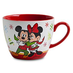 Minnie Mouse Cappuccino Mug - Holiday