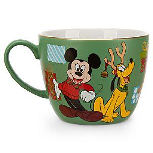Mickey Mouse Holiday Cappuccino Mug