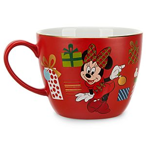 Minnie Mouse Holiday Cappuccino Mug