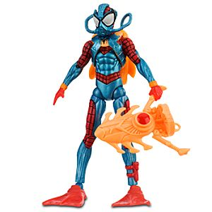 Dive Attack Spider-Man Action Figure -- 3 3/4 H