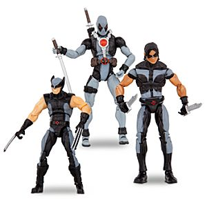X-Force Action Figure Set -- 3-Pc.