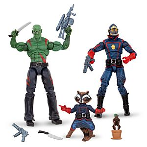 Guardians of the Galaxy Action Figure Set -- 4-Pc.