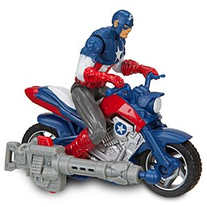 Captain America Furyfire Assault Cycle by Hasbro