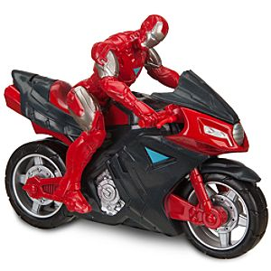 Battle Chargers Iron Man Iron Assault Bike by Hasbro